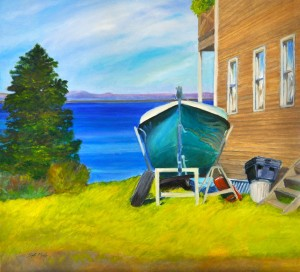 Local Art in Harpswell Maine