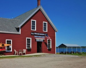 Cafe in Harpswell Maine