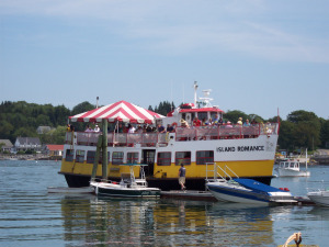 Casco Bay Lines Noon Time Cruise on Bailey Island Maine