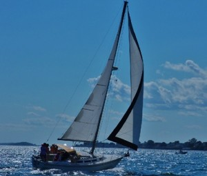 Ark II Sailboat Charter Bailey Island Maine