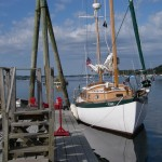 Tevake Sailing Boat Charter On Bailey Island