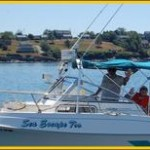 Sea Escape Charter Boat on Bailey Island Maine